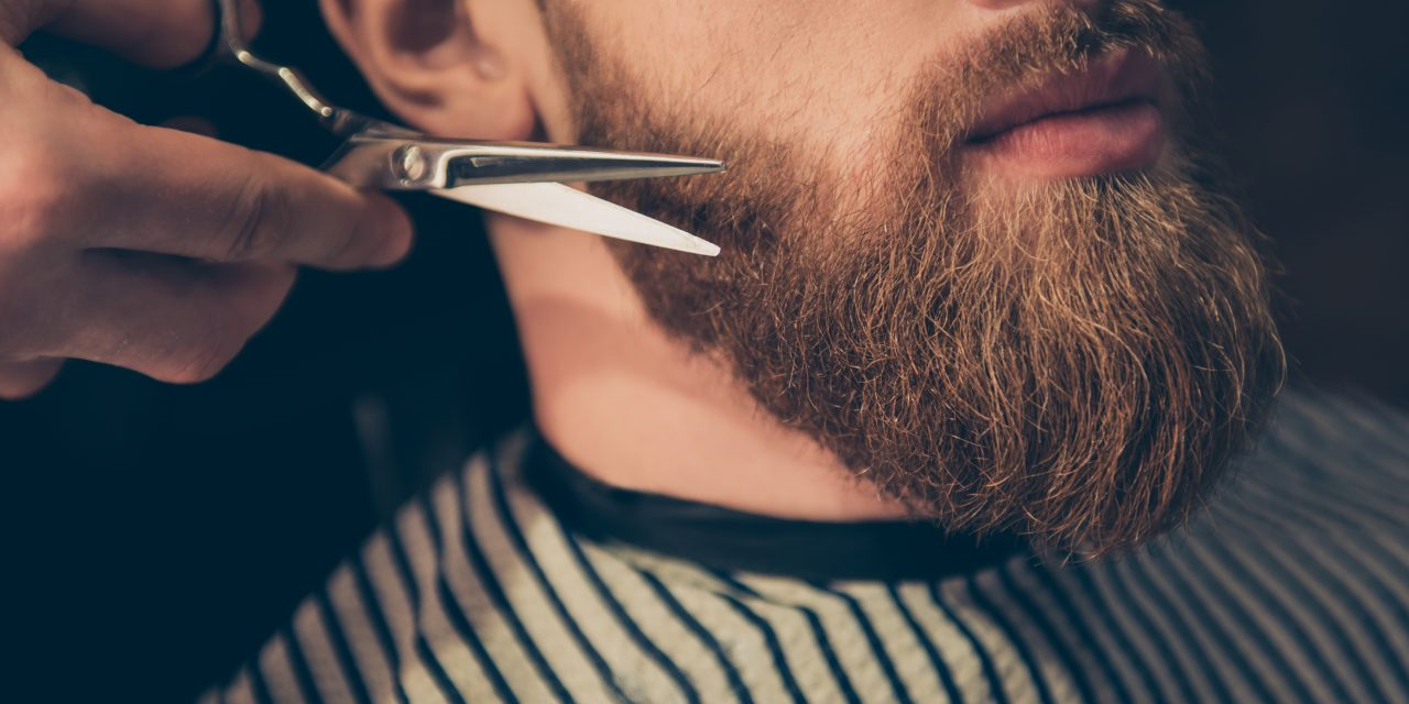 Beard,Styling,And,Cut.,Close,Up,Cropped,Photo,Of,A